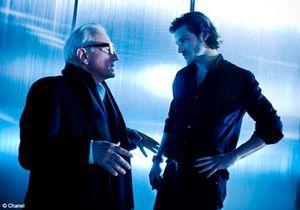 Gaspard Ulliel et Martin Scorcese réunis par Chanel