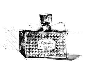 Le parfum Miss Dior au musée