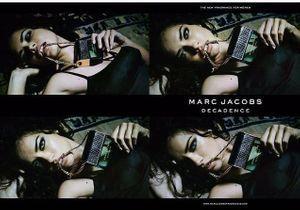 Marc Jacobs : un aperçu de la campagne du parfum Decadence, incarné par Adriana Lima