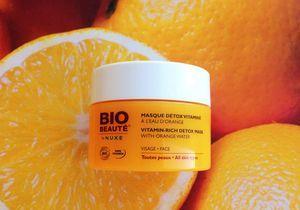 On aime : le Masque détox vitaminé de Bio Beauté by Nuxe