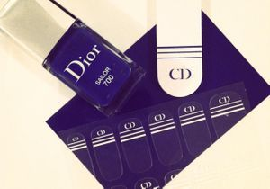 On aime : le kit Manucure Transat de Dior