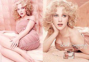 Scarlett prend la pose pour Dolce & Gabbana