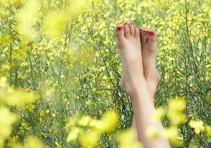 Votre beauté des pieds step by step