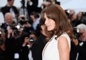 Cannes 2018 : Carla Bruni, éblouissante en fourreau Dior
