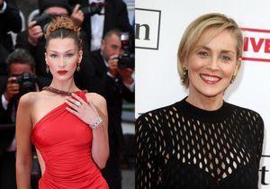 Cannes 2019 : Bella Hadid et Sharon Stone portent l'exacte même robe !