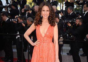 Le look du jour de Cannes : Andie MacDowell en Elie Saab