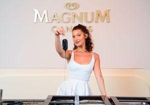 Cannes 2018 : à la rencontre de Bella Hadid autour d'une glace