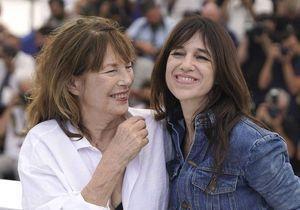 Cannes 2021 : Charlotte Gainsbourg et Jane Birkin, iconique duo mère-fille