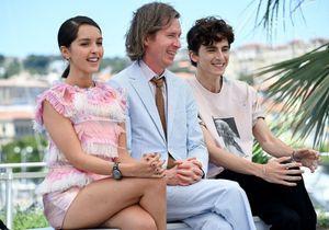 Cannes 2021 : Timothée Chalamet, Lyna Khoudri et Wes Anderson, le photocall de « The French Dispatch » sous le signe de la bonne humeur
