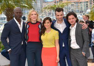 Les acteurs de «Dragons 2 » en photocall