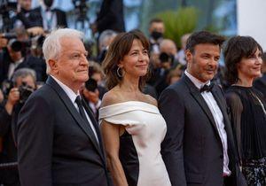 Cannes 2021 : Sophie Marceau, radieuse aux côtés de François Ozon et André Dussollier