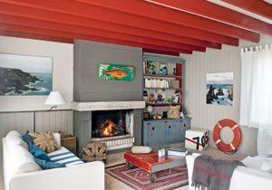 Déco bord de mer : une maison bretonne comme on aime...