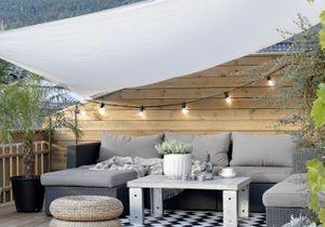 5 façons originales d'éclairer sa terrasse