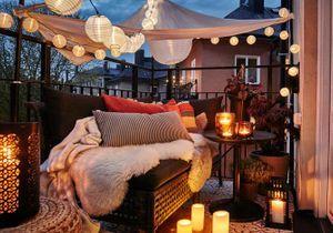 J'illumine ma terrasse