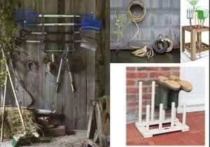Des rangements malins pour mes outils de jardinage