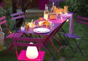 Choisissez votre table de jardin !