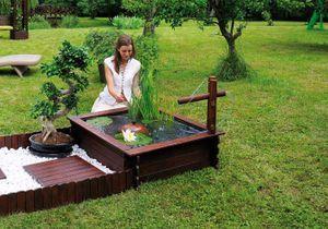 5 beaux petits bassins à mettre dans le jardin