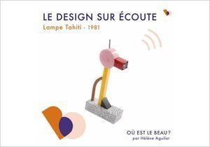 « Où est le beau ? » x ELLE Déco explosion de couleurs avec la lampe Tahiti d'Ettore Sottsass