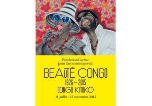 "Exposition ""Beauté Congo 1926-2015 Congo Kitoko"" à la Fondation Cartier"