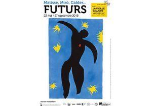 """Exposition """"Futurs de la ville aux étoiles Matisse, Miró, Calder..."""" au Centre de la Vieille Charité"""