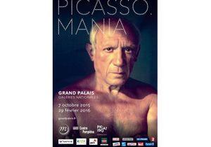 """Exposition """"Picasso.mania"""" au Grand Palais"""