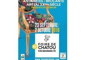 Foire de Chatou 2016