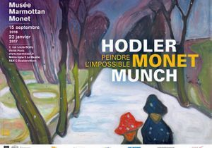"""""""Hodler, Monet, Munch. Peindre l'impossible."""" au Musée Marmottan Monet"""