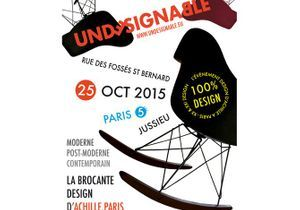 Undesignable, la brocante design d'Achille à Paris