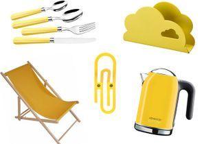 Déco : je vois la vie en jaune !