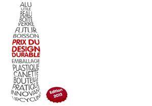 Ouverture à tous de la 3ème édition du Prix du Design Durable