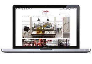 Le concept store Merci lance son site web