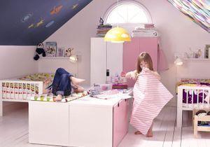 5 belles chambres d'enfant aménagées dans les combles