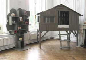 Créer une cabane dans une chambre d'enfant