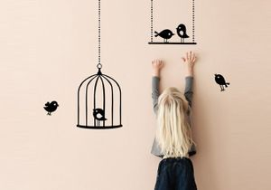 Chambre d'enfants : craquez pour des stickers déco et rigolos
