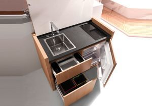 Une cuisine compacte révolutionnaire
