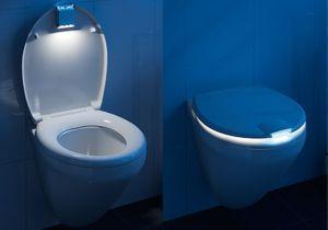 L'objet insolite du jour : l'abattant de WC lumineux