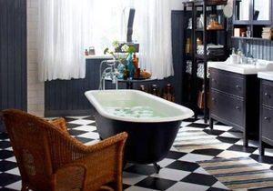 Une baignoire à l'ancienne pour ma salle de bains