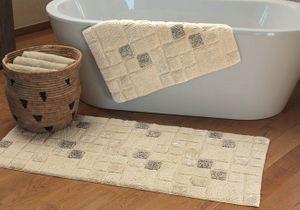 15 tapis pour habiller votre salle de bains