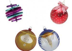25 boules de Noël originales