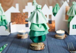 DIY : créer un sapin de Noël avec du tissu