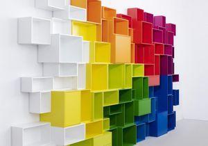 Les étagères Cubit prennent de la couleur