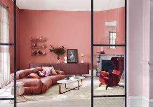 Un salon coloré pour faire le plein de bonne humeur