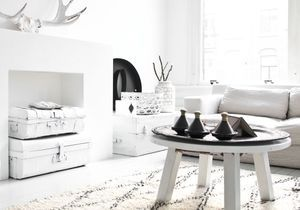 Le noir&blanc s'invite au salon