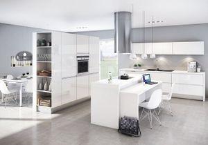 Une transition idéale entre la cuisine et le salon