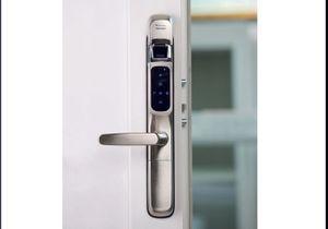 Ouvrez simplement votre porte avec votre empreinte...