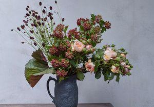 10 fleurs stars pour 3 bouquets d'automne