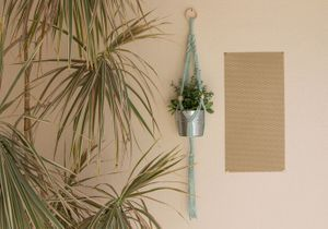 DIY : comment faire une suspension en macramé ?