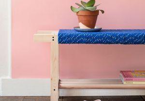 DIY : créez un banc avec de la corde !