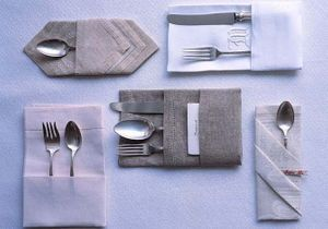 9 pliages de serviettes faciles