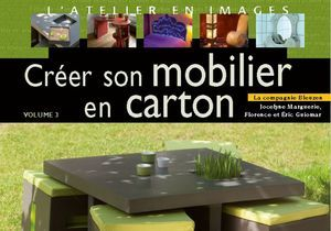 """Créer son mobilier en carton"", un livre pour habiller sa maison"
